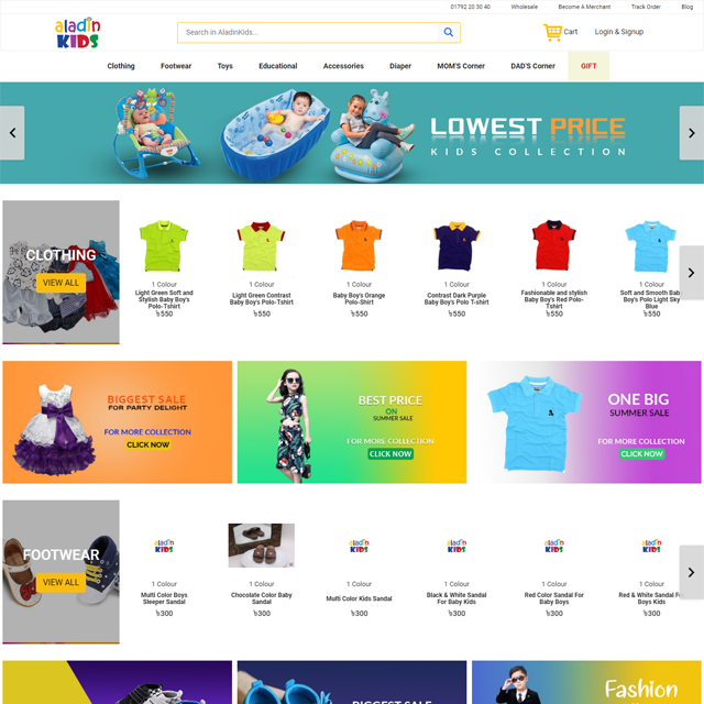 All E-commerce Website