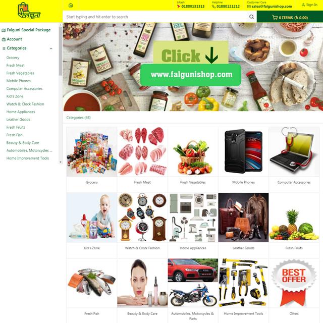 A New E-commerce Website
