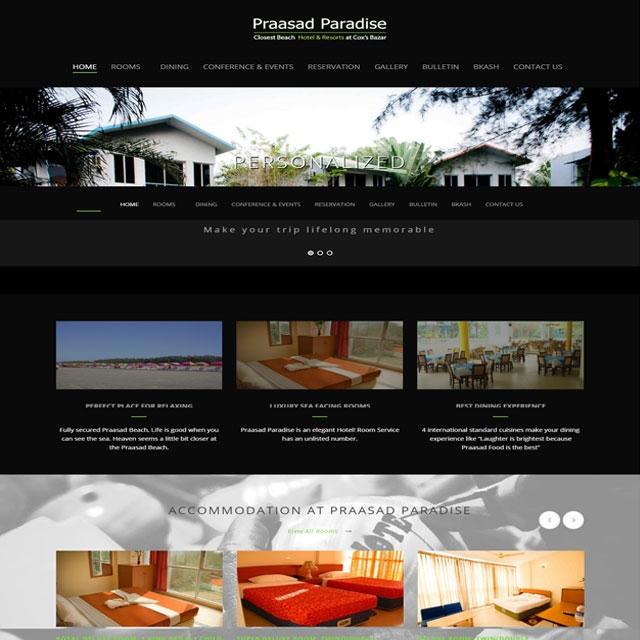 Hotel & Resturant Website