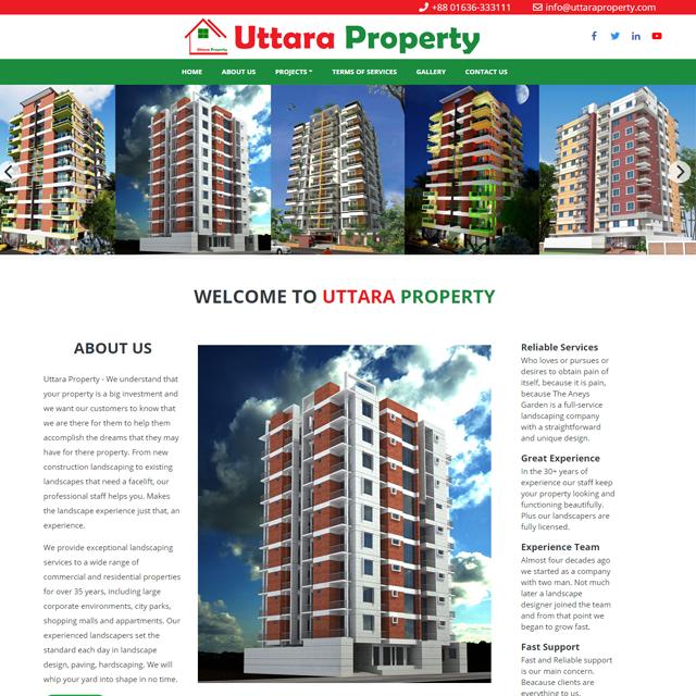 A  Real Estate Website