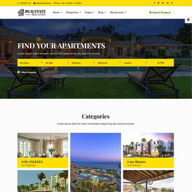 A New Real Estate Website