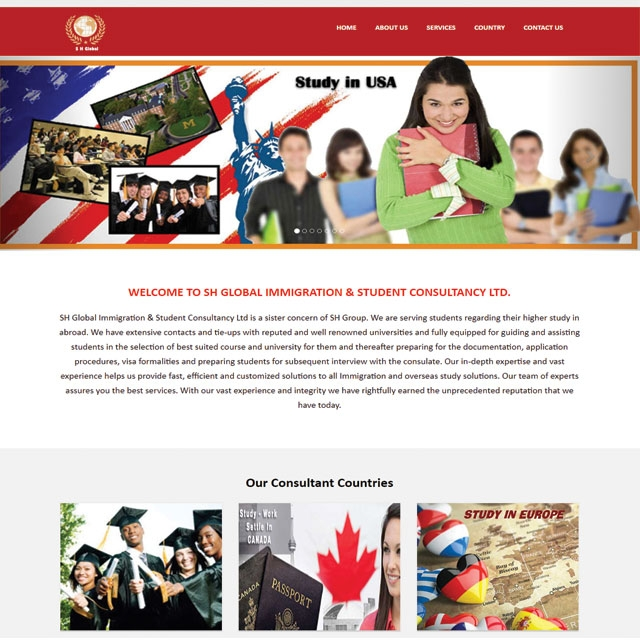 Tours & Travels Website Design