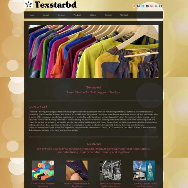 Garments & Buying website