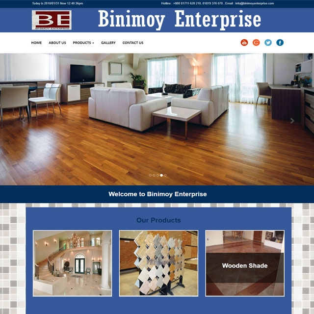 Tiles Company Website