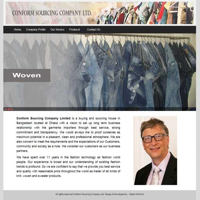 Garments related  websites