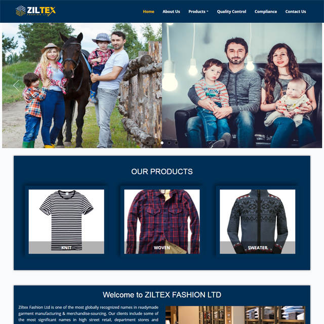 Clothing– Buying House Website